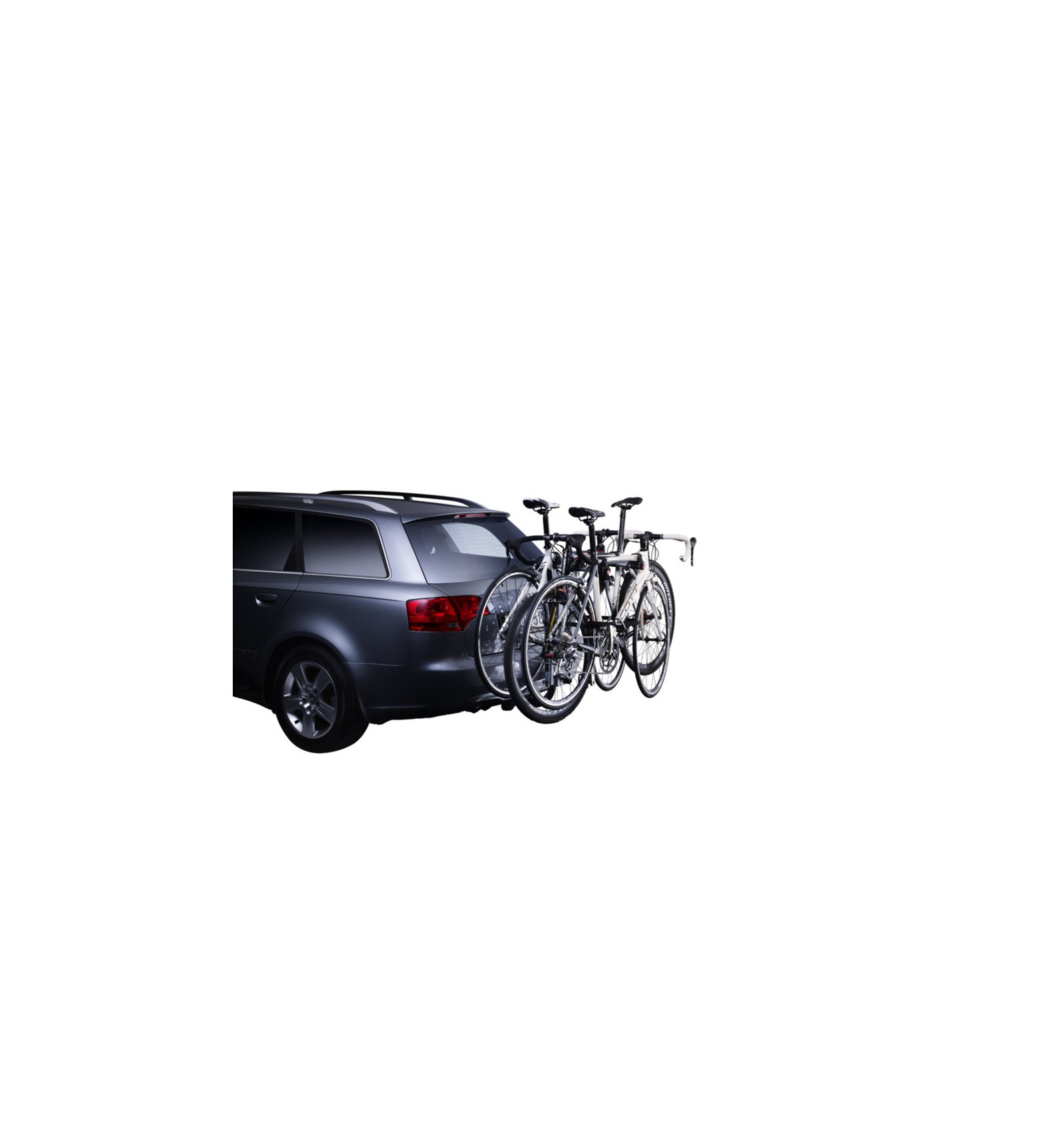 porte velo attache remorque hangon 3bike avec inclinaison thule alpinstore. Black Bedroom Furniture Sets. Home Design Ideas