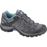 Hiking Randonnee Aventure Salomon Shoes Ellipse Aero W Pewter/detroit/bl