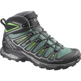 Hiking Randonnee Aventure Salomon Shoes  X Ultra Mid 2 Gtx® Bettle Gre/bk