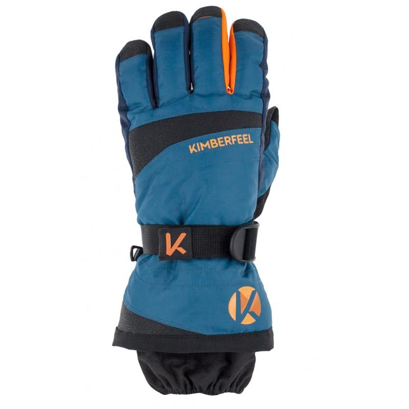 gants de ski courmayeur kimberfeel bleu alpinstore. Black Bedroom Furniture Sets. Home Design Ideas