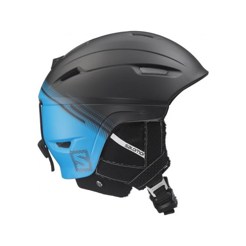 casque de ski ranger 4d c air black blue salomon alpinstore. Black Bedroom Furniture Sets. Home Design Ideas