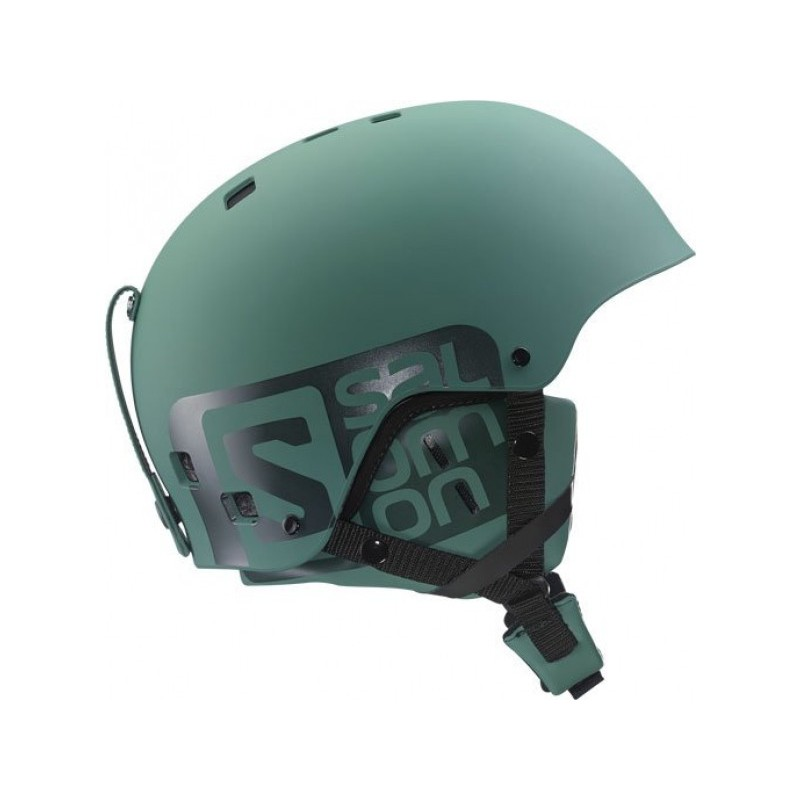 casque de ski brigade silt green salomon ebay. Black Bedroom Furniture Sets. Home Design Ideas