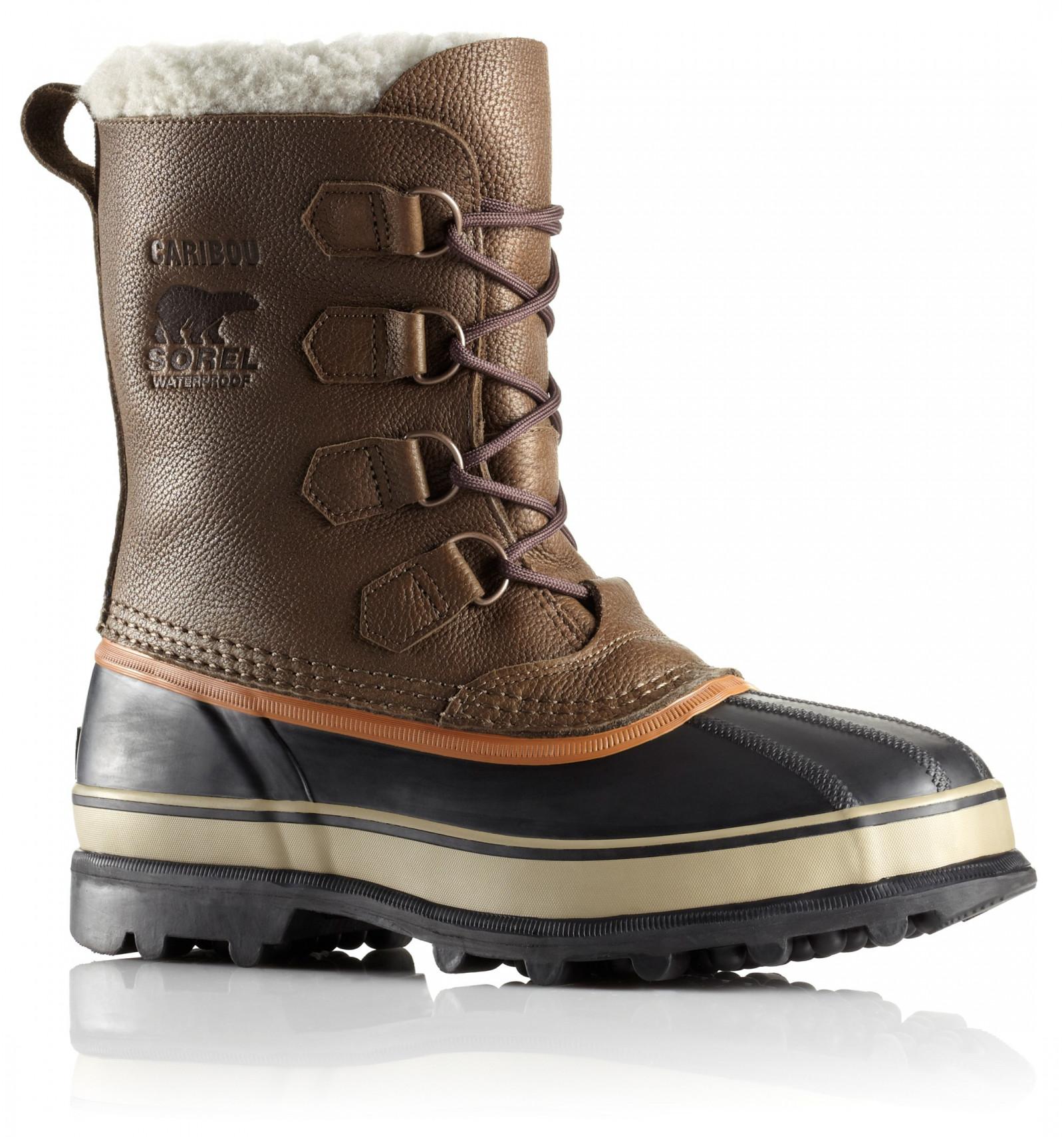 botte apr s ski sorel caribou wl olive brown dark ginger. Black Bedroom Furniture Sets. Home Design Ideas