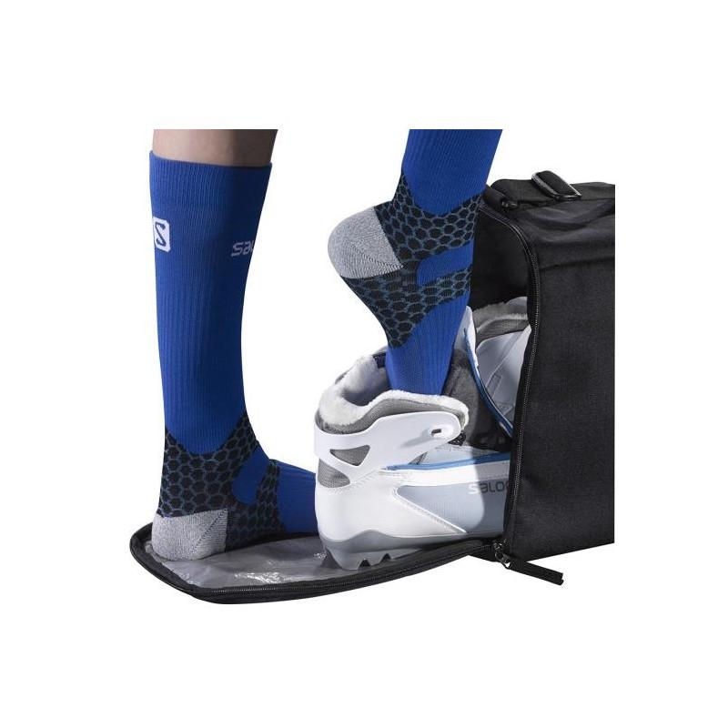 housse chaussure ski nordique salomon ski bag nordic gear bag black ye alpinstore. Black Bedroom Furniture Sets. Home Design Ideas