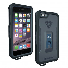 Coque Protection Ipx8 360 Etanche Iphone 6+ Avec Systeme Xmount - BLACK