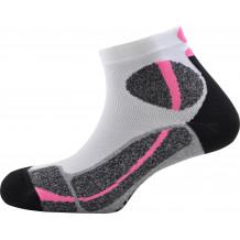Trail socks Force Monnet white pink
