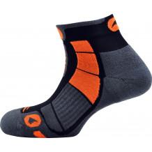 Chaussettes Trail Air Monnet gris orange