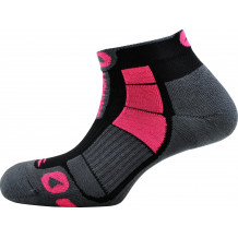Trail Air Monnet gray pink socks