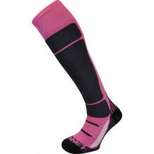 Access ski socks Monnet pink