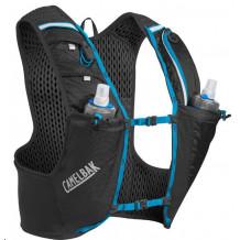Ultra Pro Vest 17oz Quick Stow Flask Black/atomic Blue M