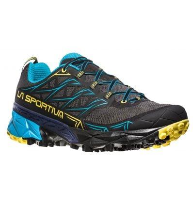 Chaussure trail Akira (Carbon/Tropic Blue) La Sportiva