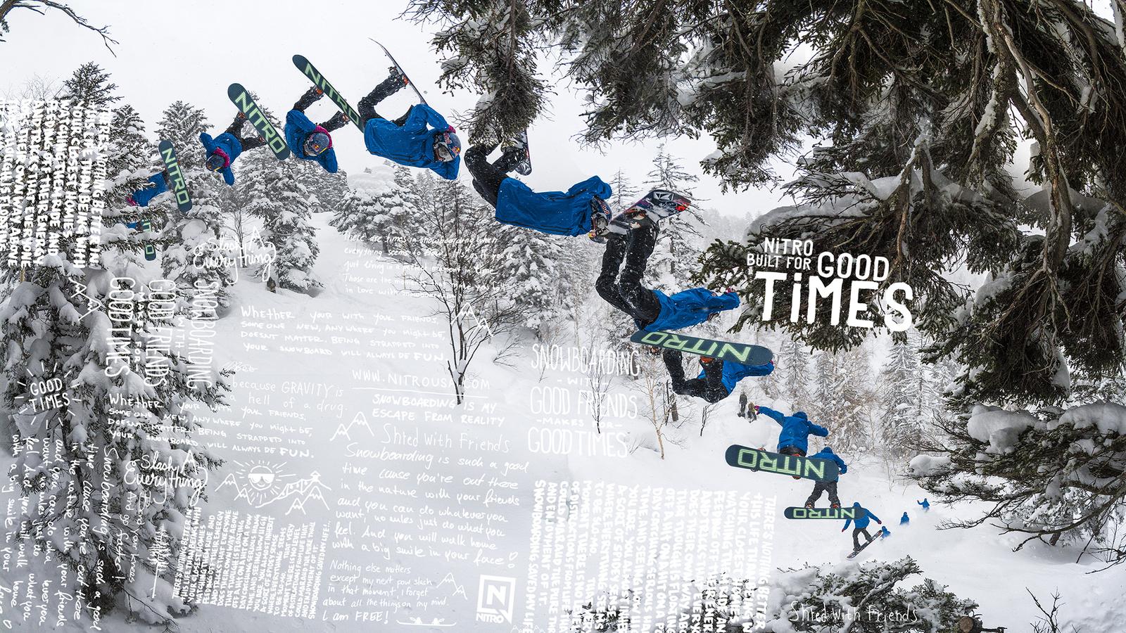 Nitro Snowboard Markus Kleveland