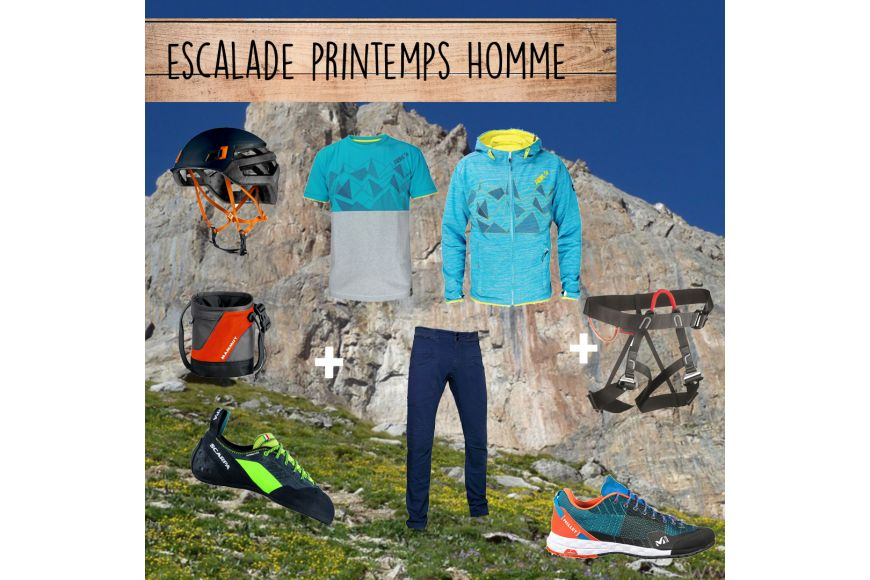 Tendance Outdoor : Escalade Printemps Homme