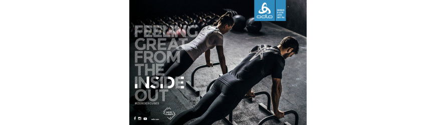 ODLO : the new Active Spine technology to keep your back straight!